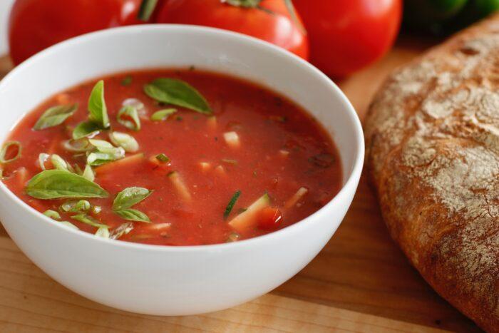 Рецепт супа гаспачо классический