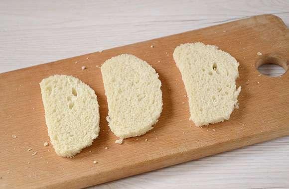 тонкие пластины хлеба