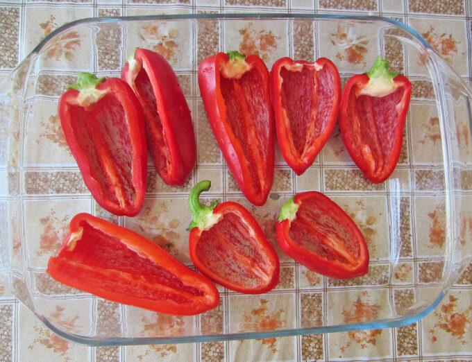 подготовка перца. Как вкусно фаршировать перец?