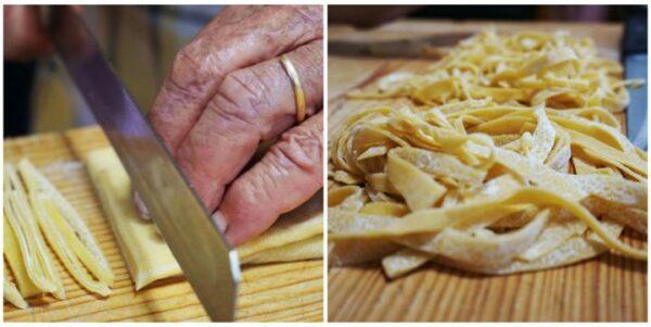 Тальятелле - итальянская яичная лапша