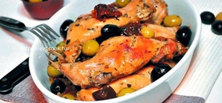 кролик запеченный с оливками и виноградом под соусом.Вкусные рецепты приготовления кролика из сметаны