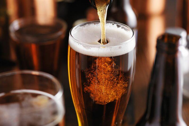 говядина на праздничный стол. Темное пиво