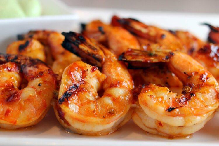 креветки жарим. паэлья рецепт классический с морепродуктами