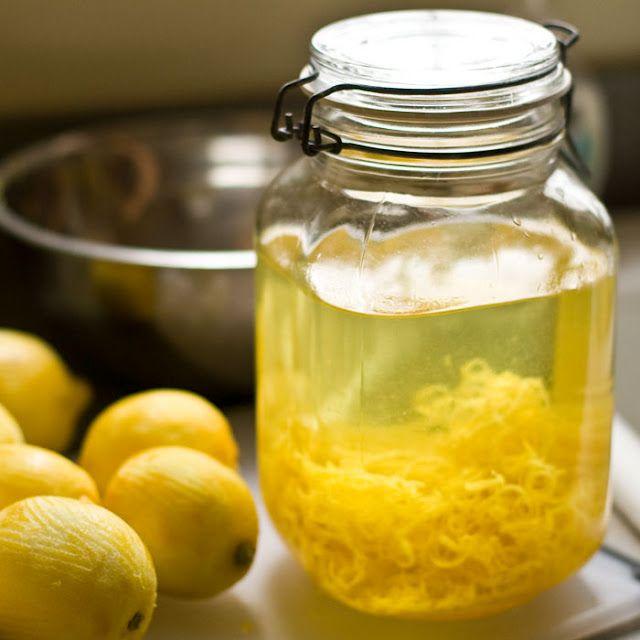 наливка из лимона
