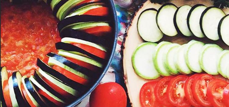 Рататуй из овощей в стиле прованс