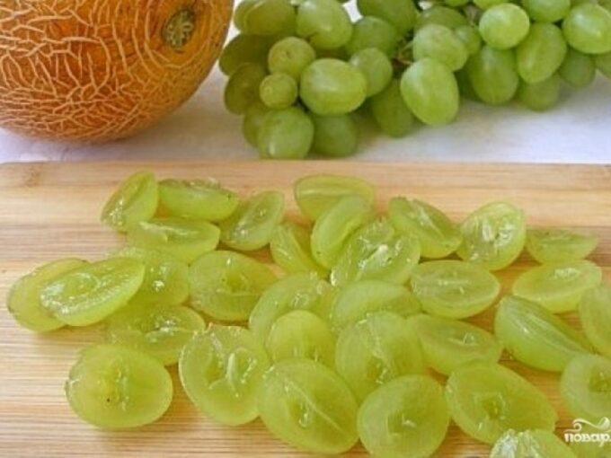салат виноградная лоза. Рецепты салата с виноградом