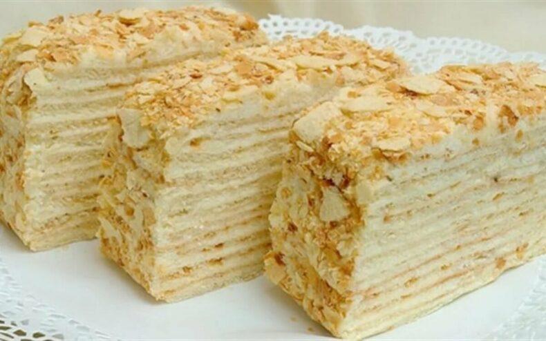 Ах, какой Наполеон! Торт Наполеон- самый лучший рецепт приготовления.