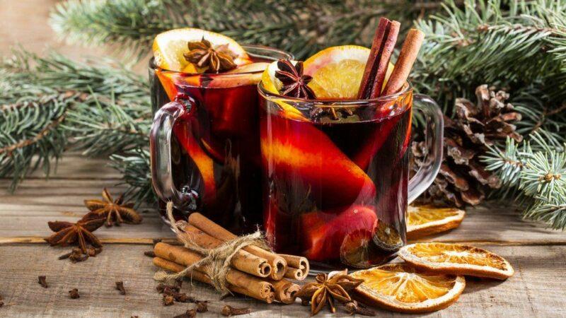 Глинтвейн согревающий напиток в холодные вечера