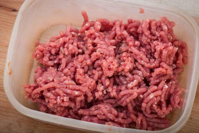 готовим фарш из говядины