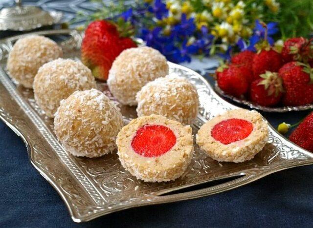 десерты из клубники без выпечки