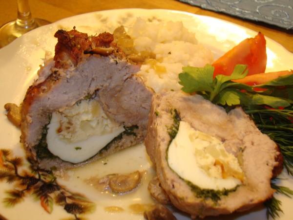 Мясные мешочки- оригинальное блюдо для званного ужина