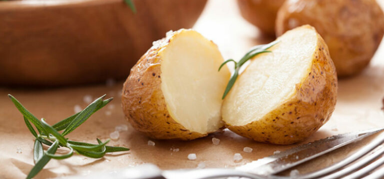 отварной картофель в мундире