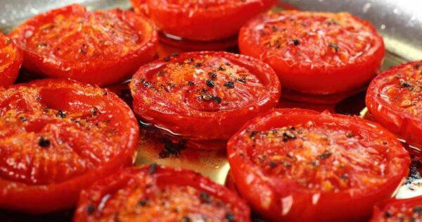 Запекаем томаты