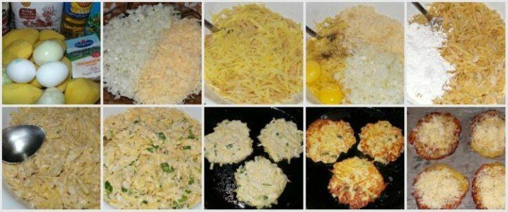 Драники картофельные, рецепт классический