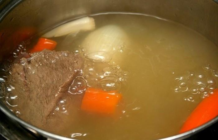 рецепт заливного мяса с желатином