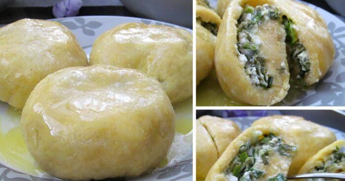 Черемша, чеченское блюдо
