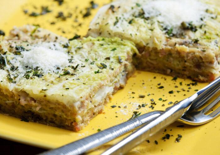 Постная капустная запеканка в духовке рецепт. Постные запеканки в духовке