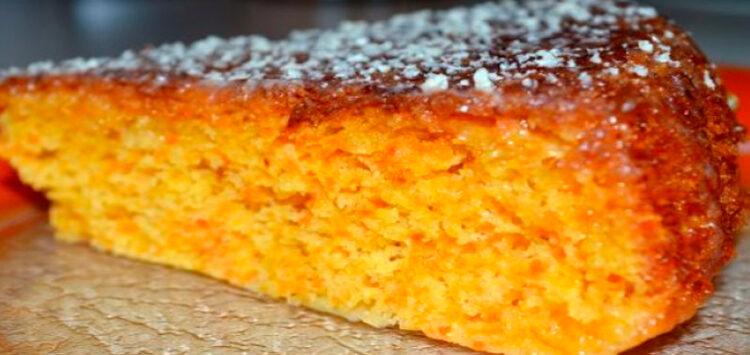Пирог морковно-ореховый. Рецепты постных сладостей