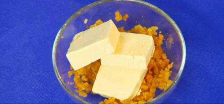 сливочное масло с сухофруктами