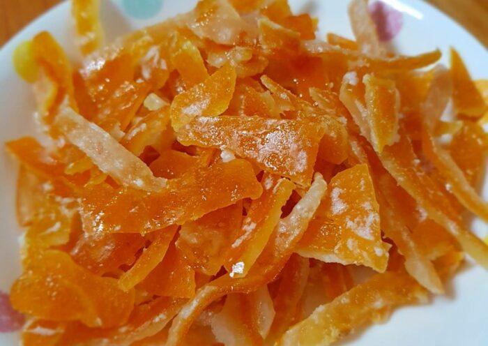 цукаты из апельсиновых корок. Десерты в пост