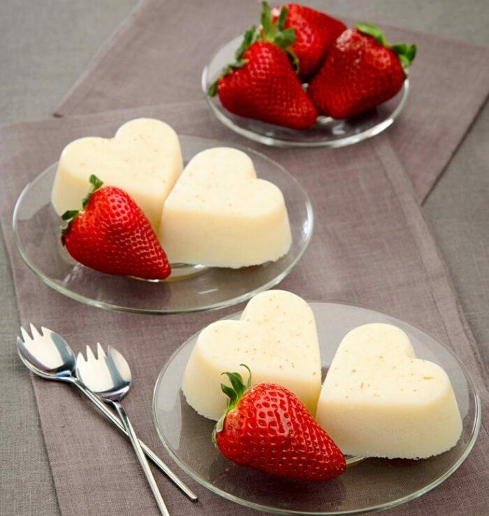 десерт для романтического ужина