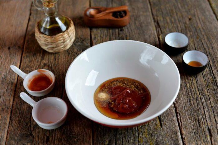 маринад из соевого соуса и меда