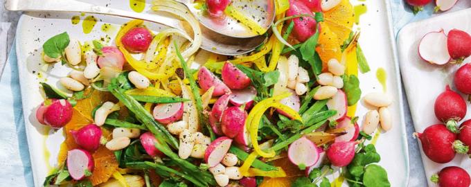 салат из запеченного редиса