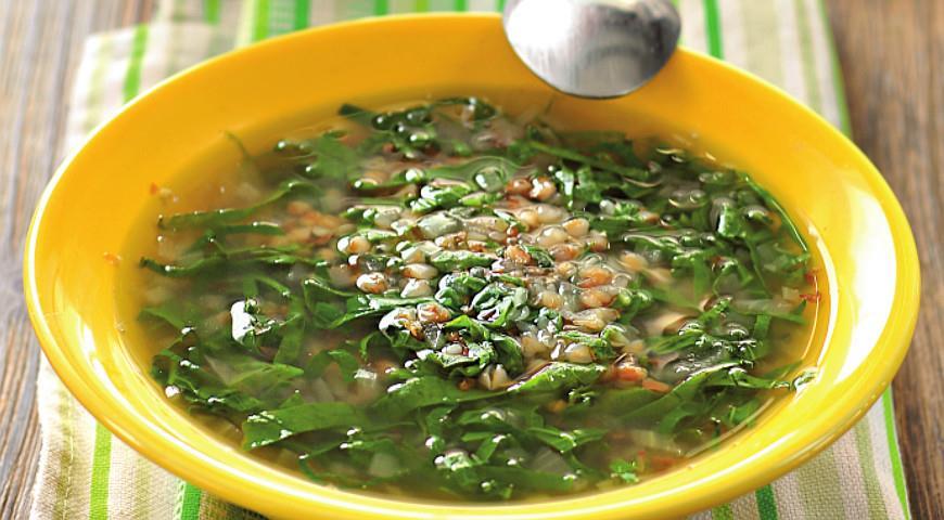 суп из гречки и крапивы