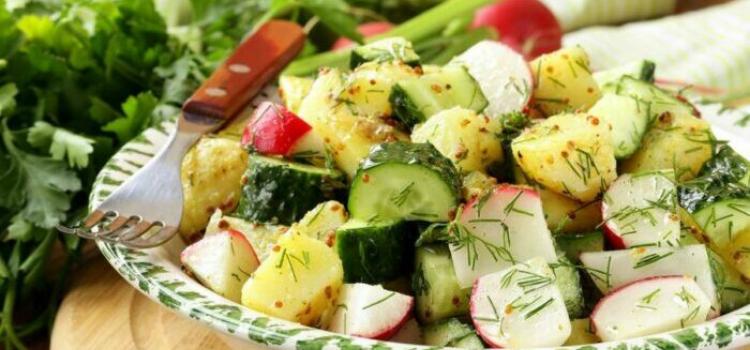 весенний салат. что приготовить из весенних овощей?