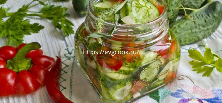 Готовим на зиму салаты из огурцов