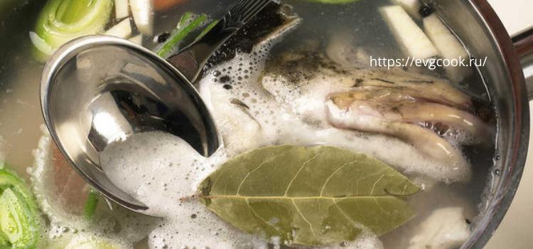 Готовим рыбный бульон. Как приготовить вкусную уху?